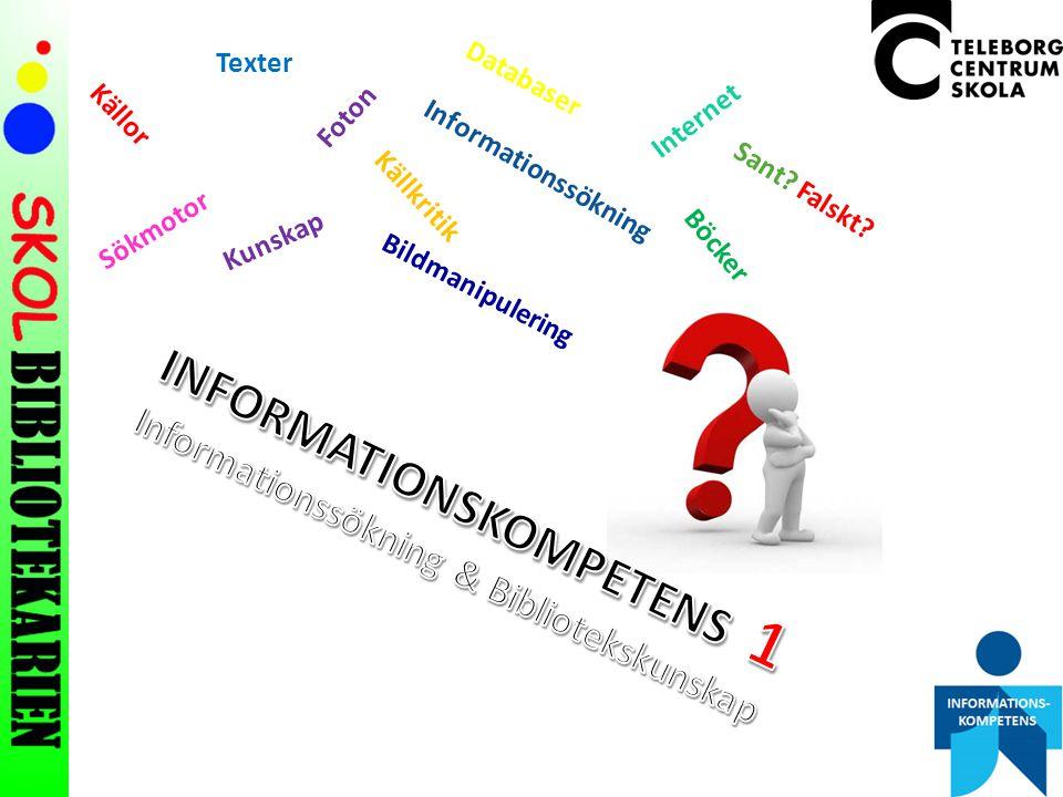 INFORMATIONSKOMPETENS 1
