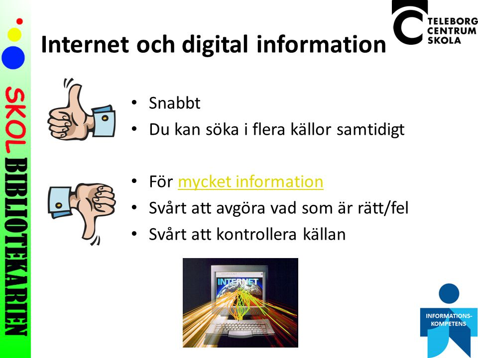 Internet och digital information