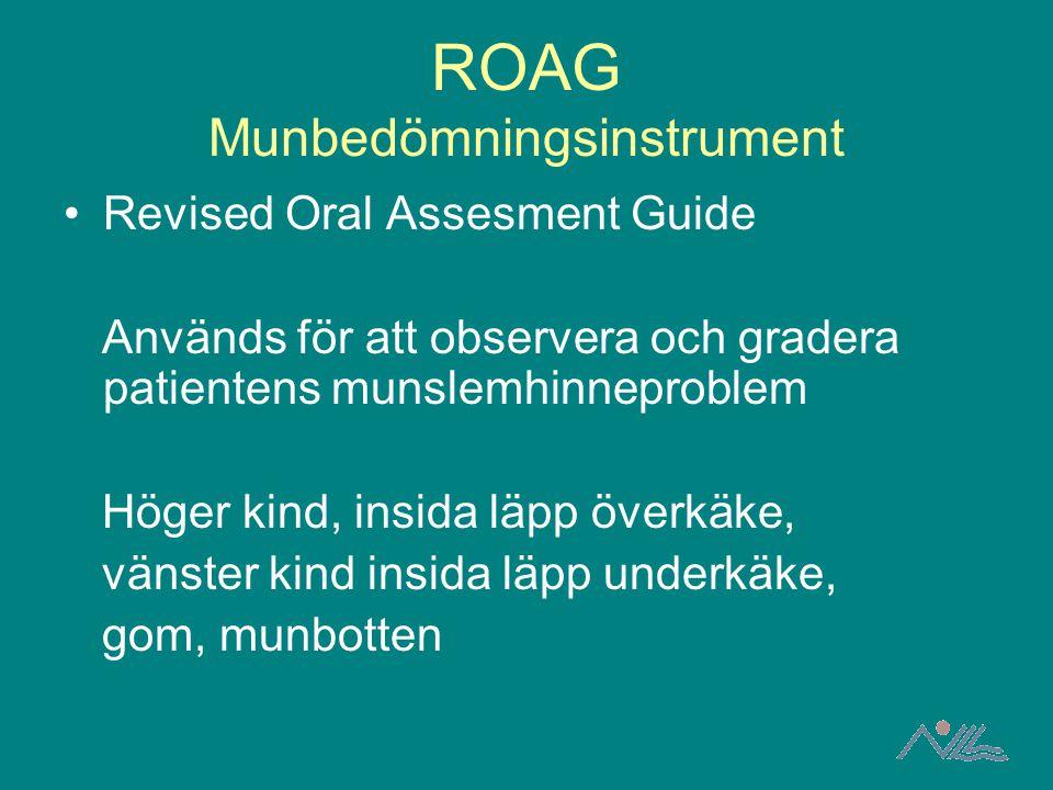 ROAG Munbedömningsinstrument