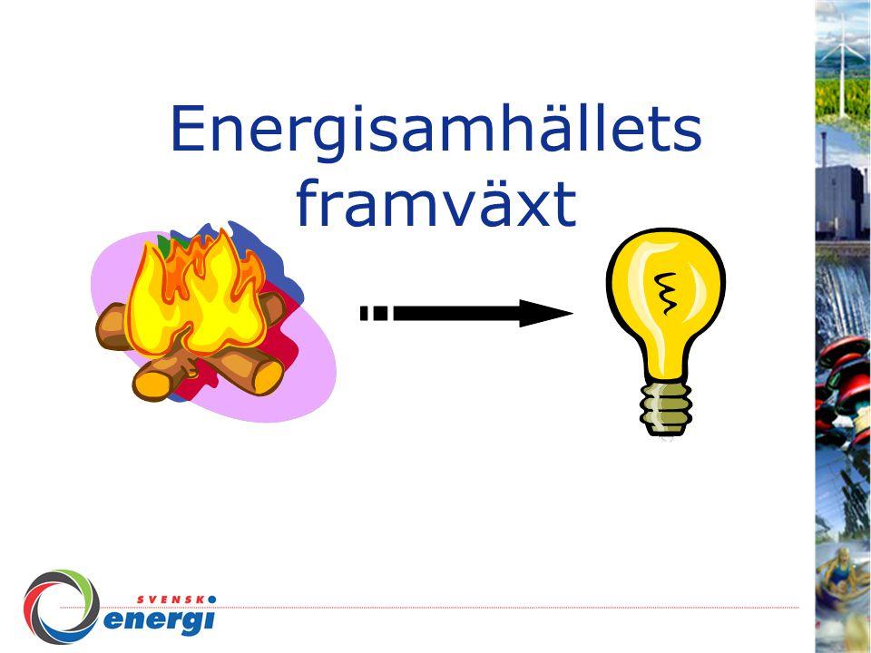 Energisamhällets framväxt