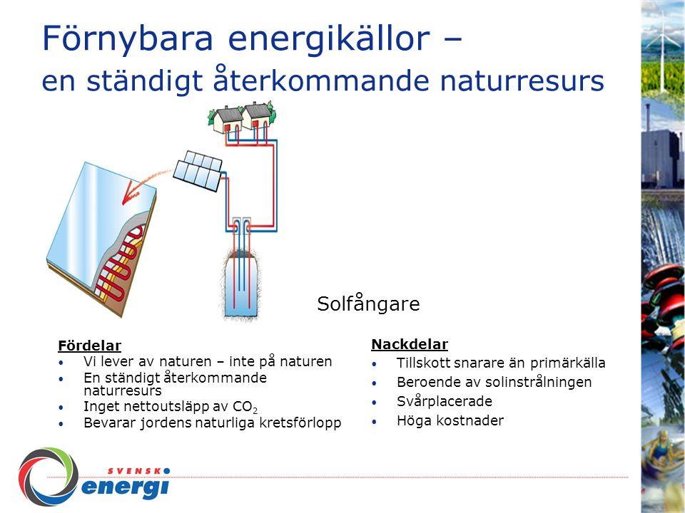 Förnybara energikällor – en ständigt återkommande naturresurs