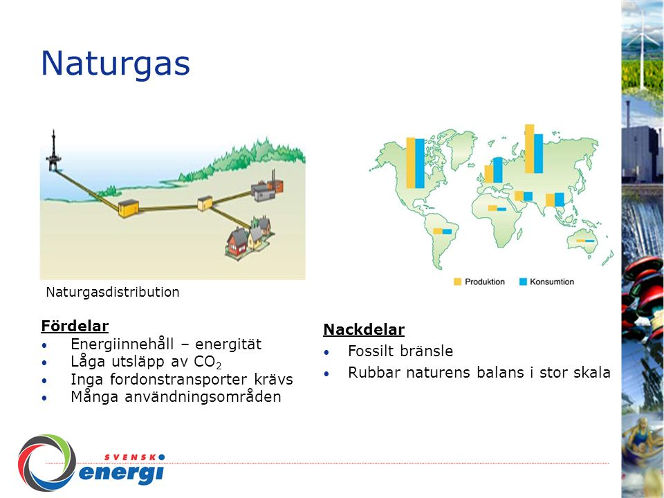Naturgas Fördelar Energiinnehåll – energität Låga utsläpp av CO2