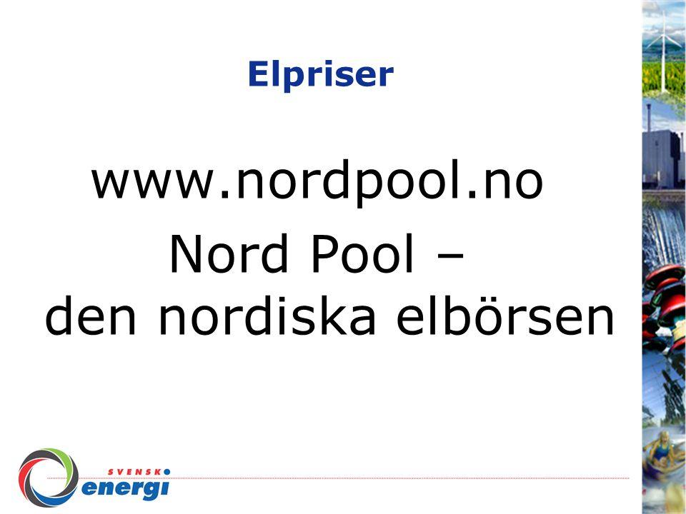 Nord Pool – den nordiska elbörsen