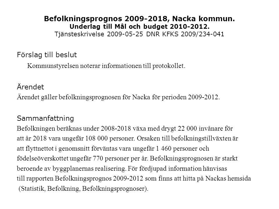 Kommunstyrelsen noterar informationen till protokollet.