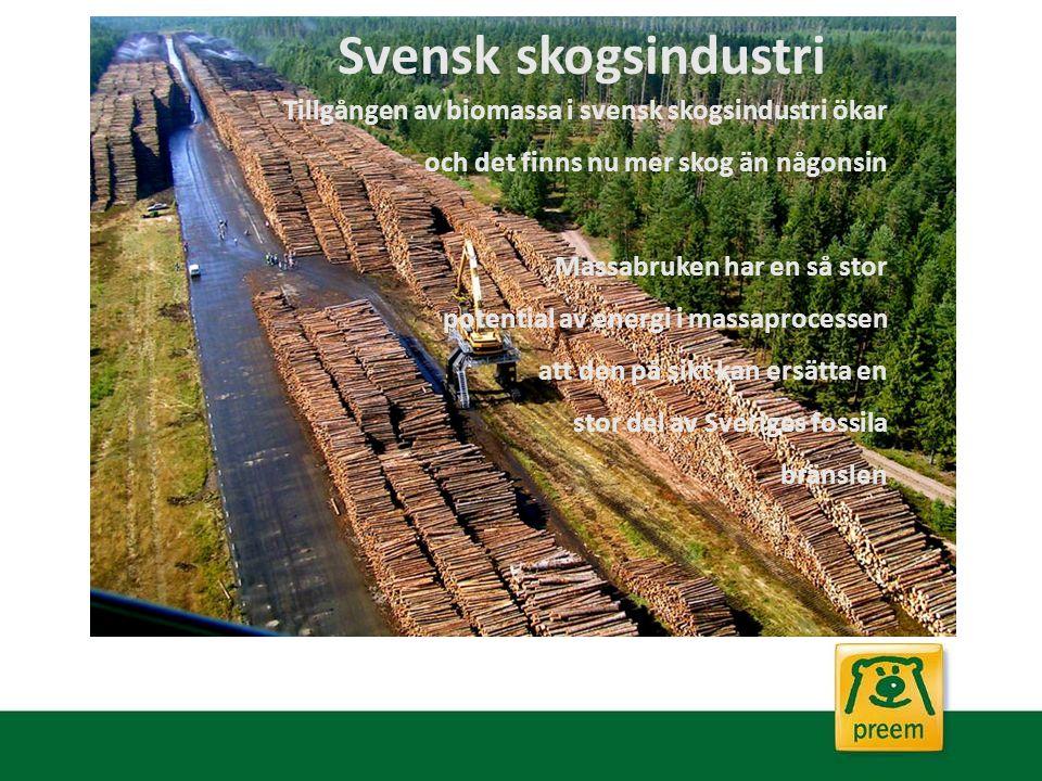 2014-03-13 Svensk skogsindustri. Tillgången av biomassa i svensk skogsindustri ökar. och det finns nu mer skog än någonsin.