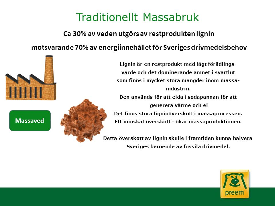 Traditionellt Massabruk