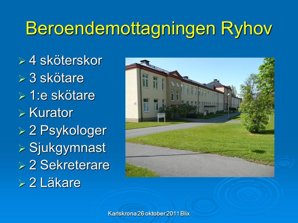 Beroendemottagningen Ryhov