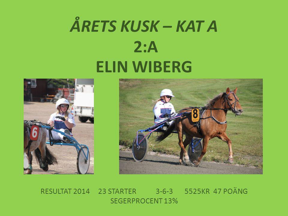 RESULTAT 2014 23 STARTER 3-6-3 5525KR 47 POÄNG