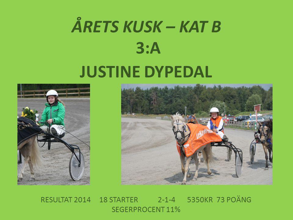 RESULTAT 2014 18 STARTER 2-1-4 5350KR 73 POÄNG