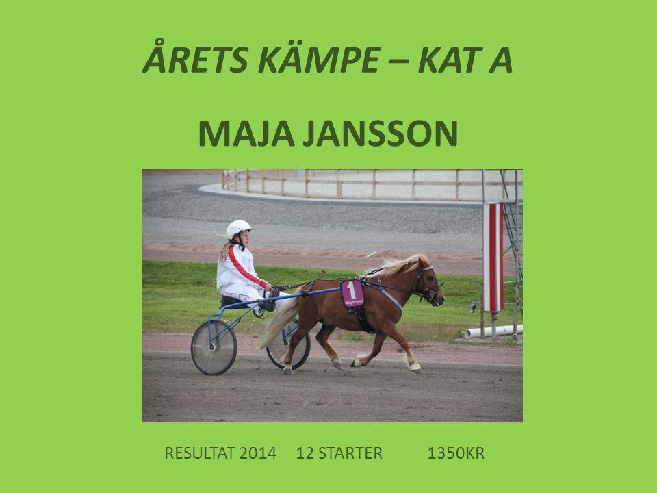 ÅRETS KÄMPE – KAT A MAJA JANSSON
