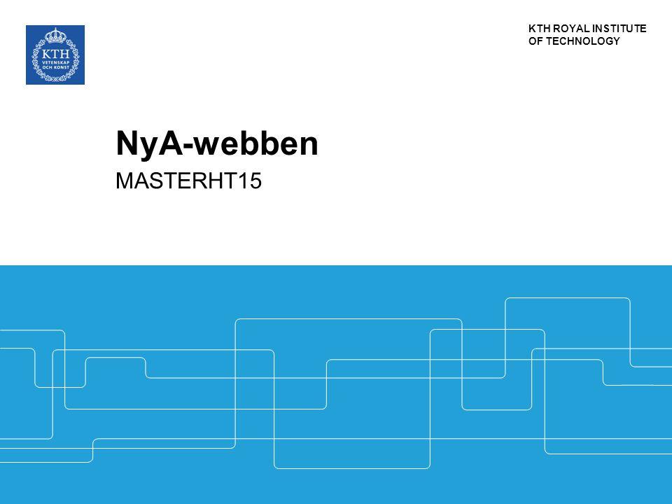 NyA-webben MASTERHT15