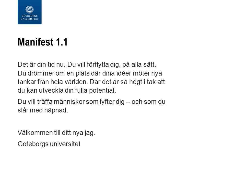 Manifest 1.1