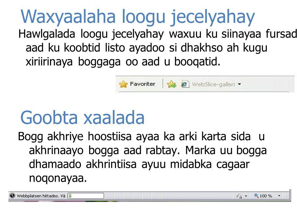 Waxyaalaha loogu jecelyahay