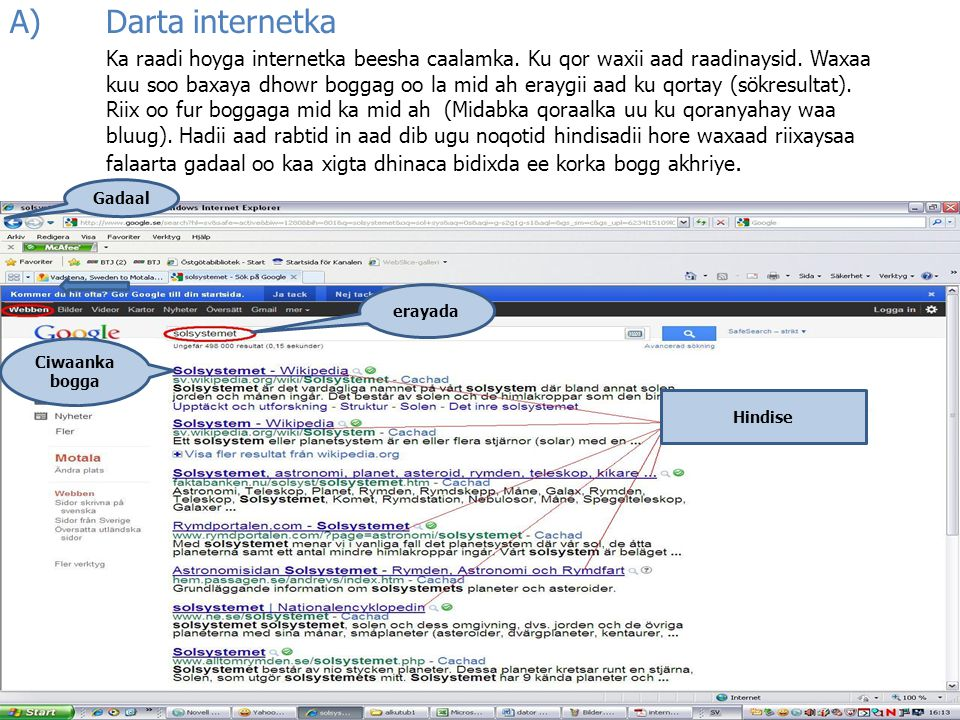 A) Darta internetka