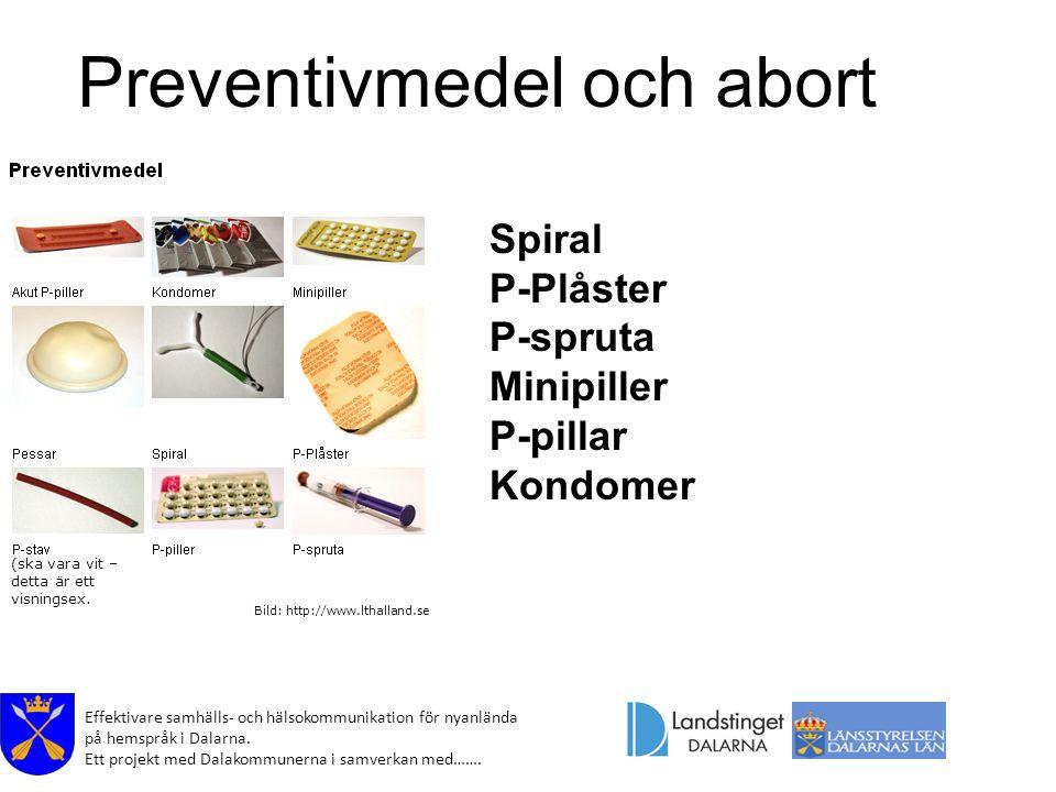 Preventivmedel och abort