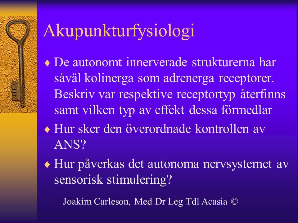Akupunkturfysiologi