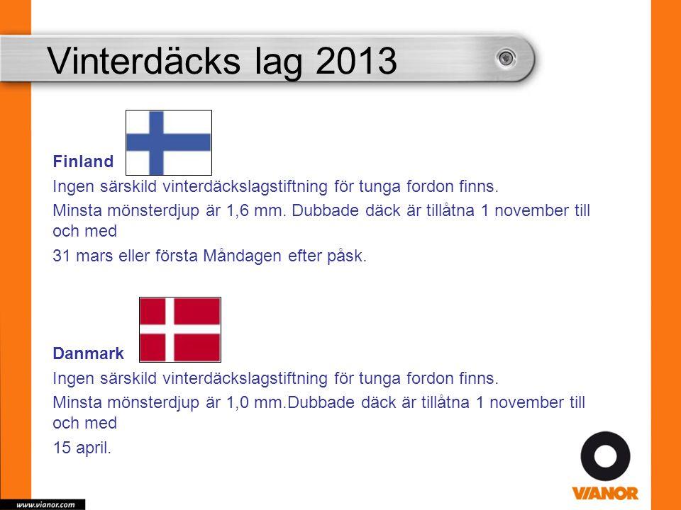 Vinterdäcks lag 2013