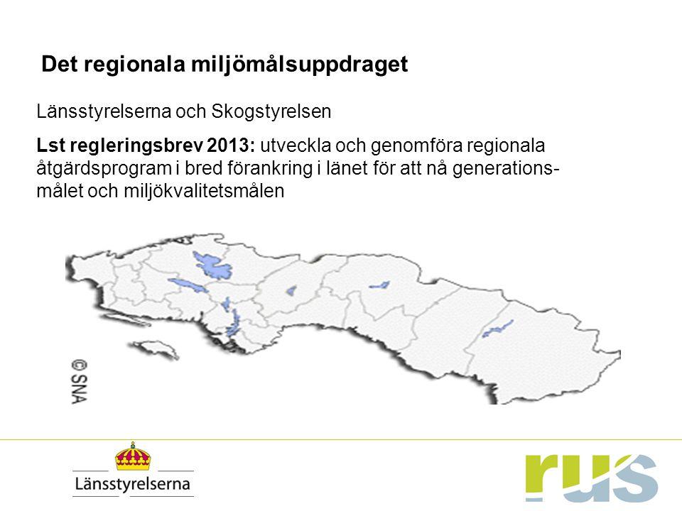 Det regionala miljömålsuppdraget