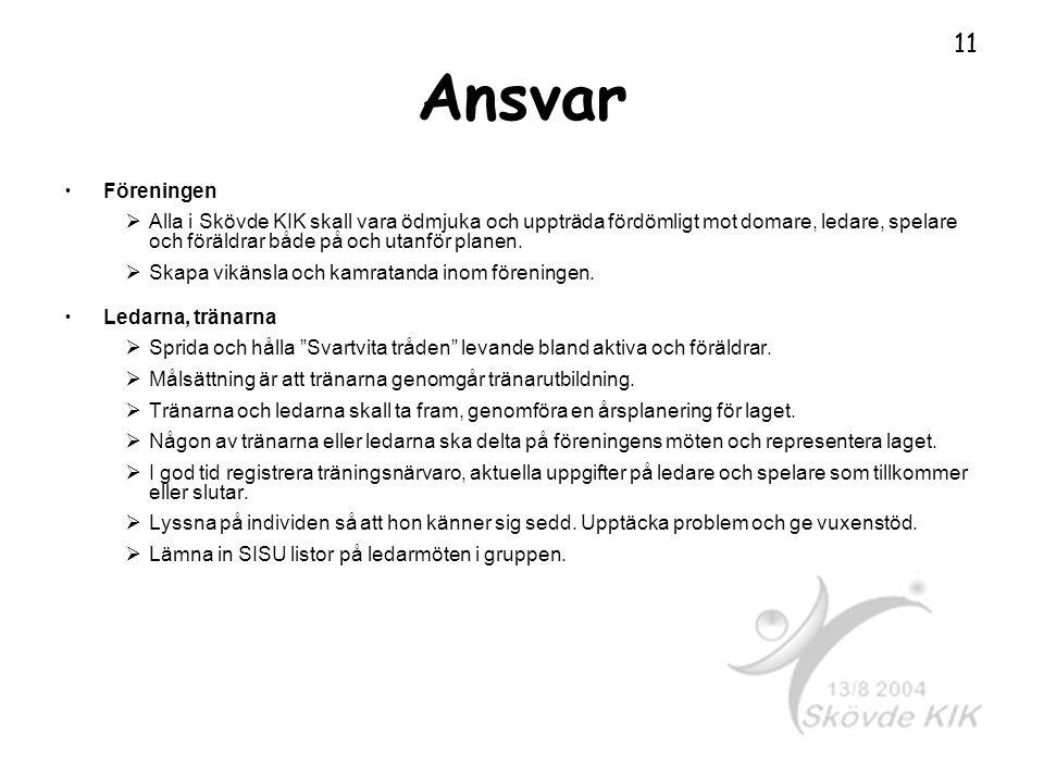 Ansvar Föreningen.