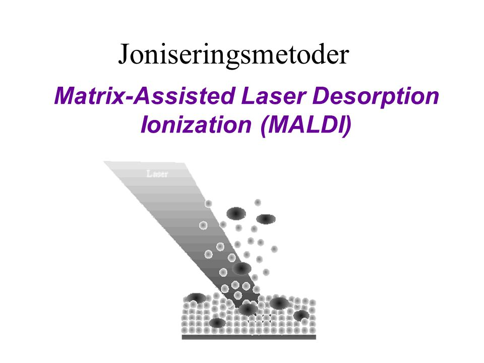 Matrix-Assisted Laser Desorption Ionization (MALDI)