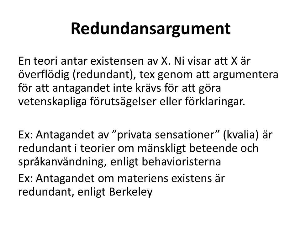 Redundansargument