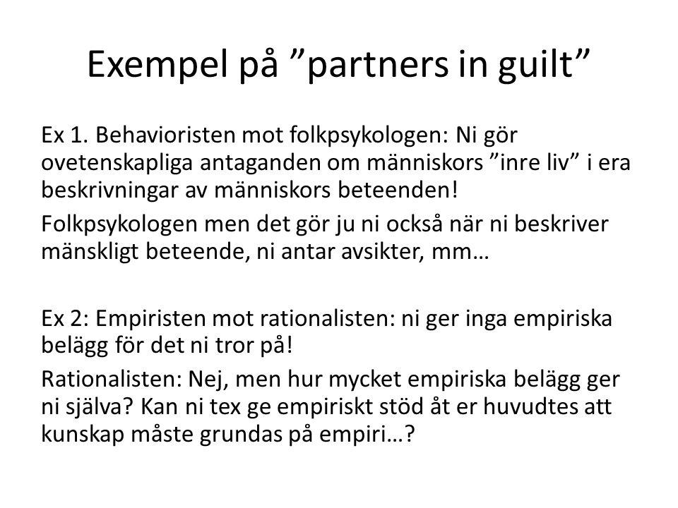 Exempel på partners in guilt