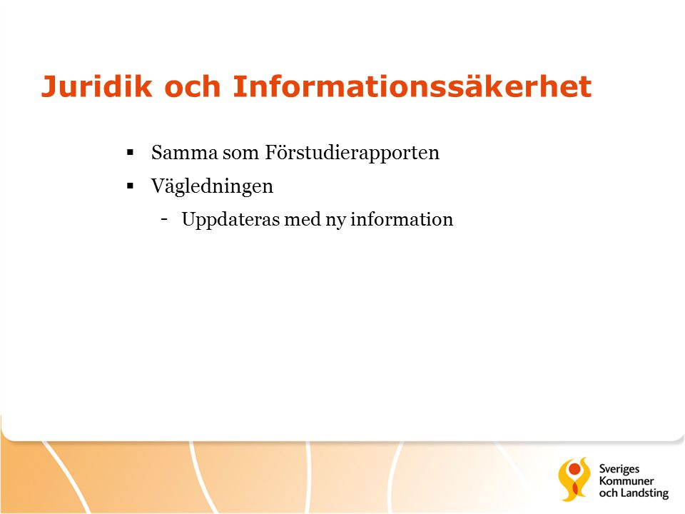Juridik och Informationssäkerhet