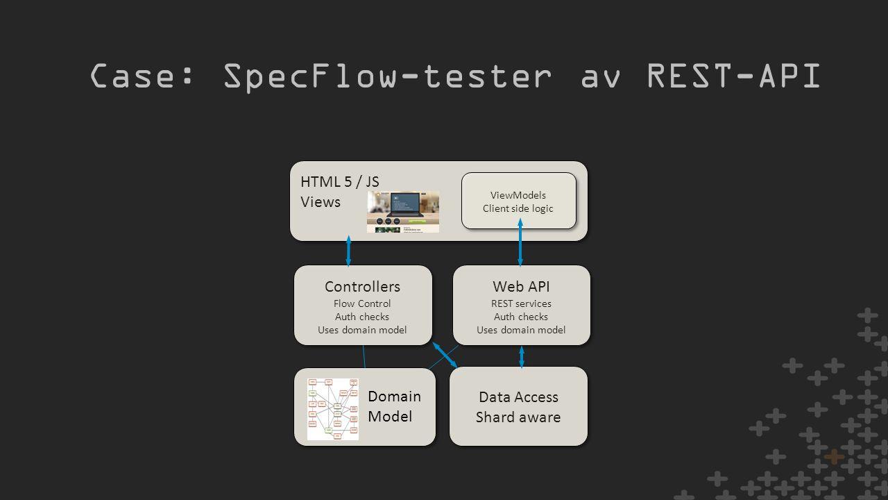 Case: SpecFlow-tester av REST-API