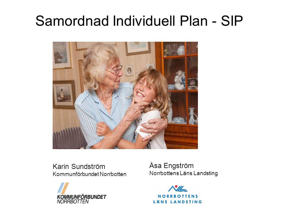 Samordnad Individuell Plan - SIP
