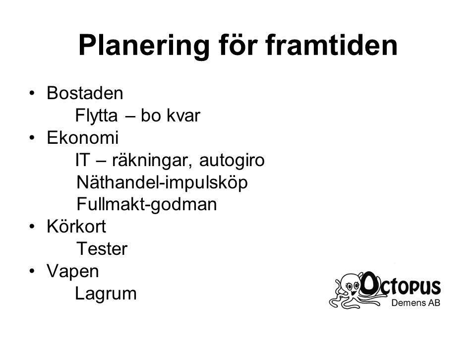 Planering för framtiden