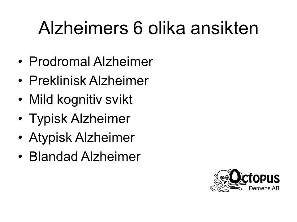 Alzheimers 6 olika ansikten