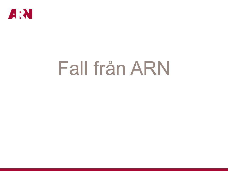 Fall från ARN