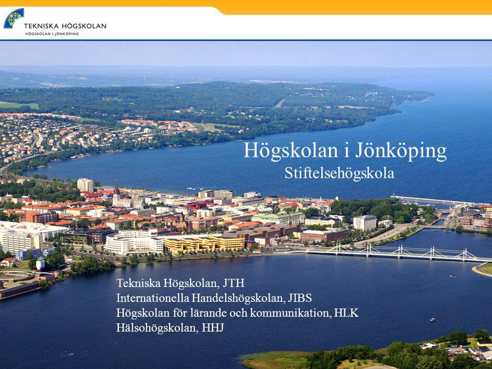 Högskolan i Jönköping Stiftelsehögskola Tekniska Högskolan, JTH