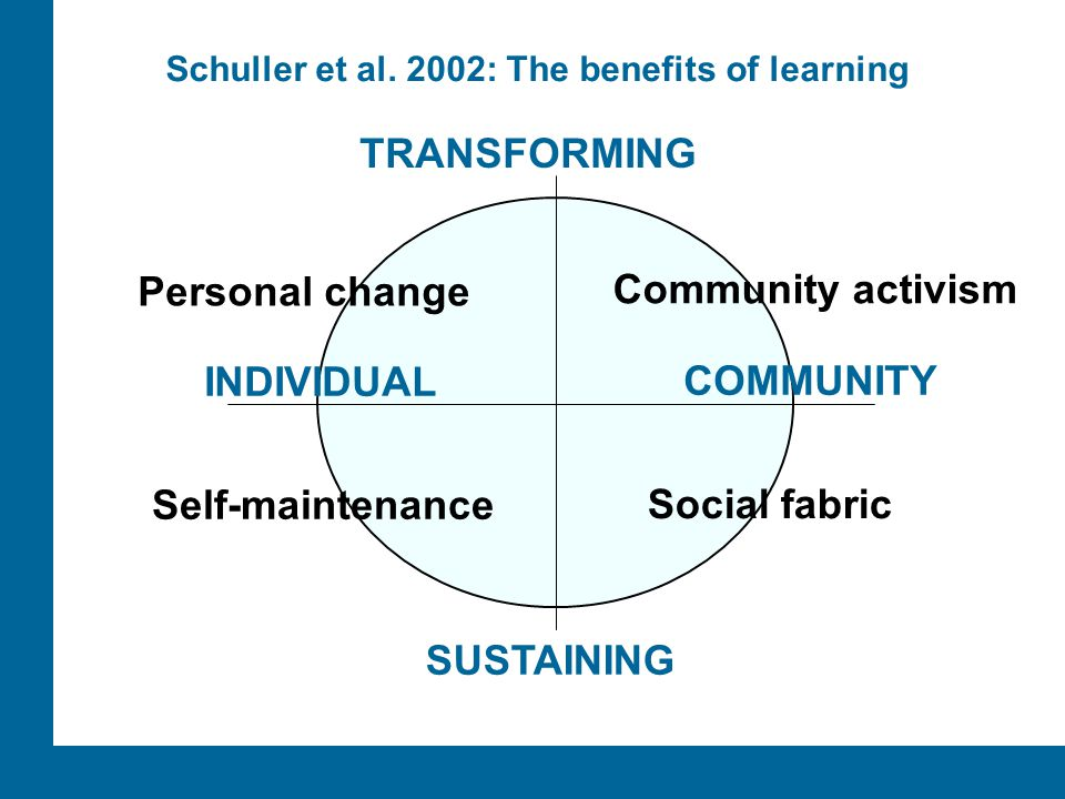 Schuller et al. 2002: The benefits of learning