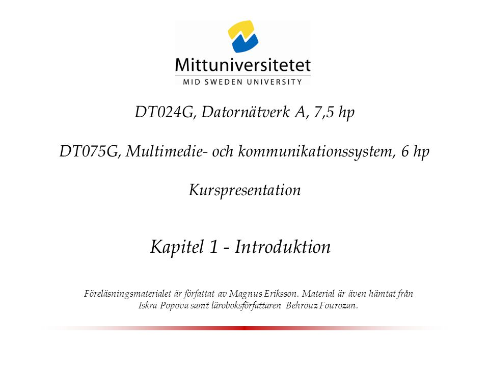 Introduction to Information Technologies Kapitel 1 - Introduktion