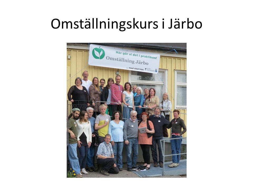 Omställningskurs i Järbo