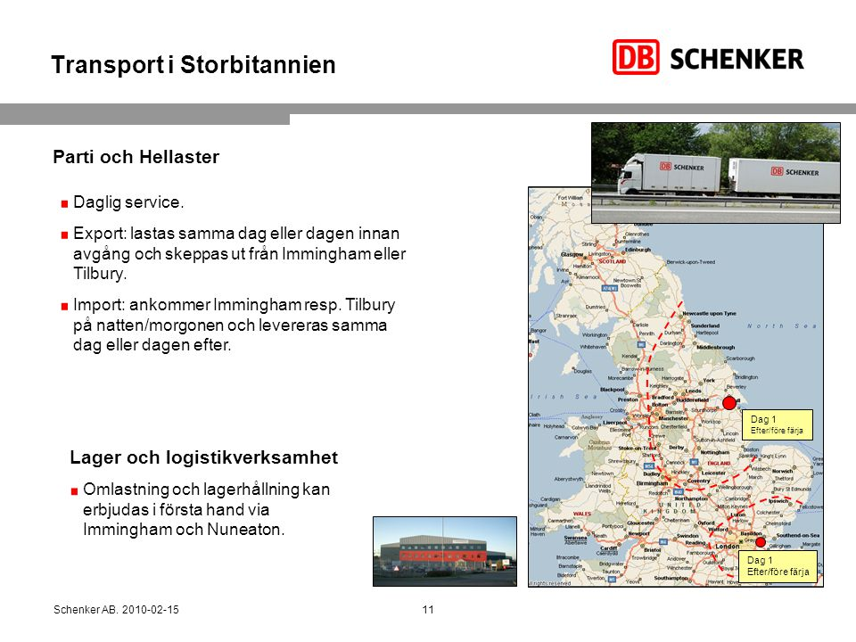 Transport i Storbitannien