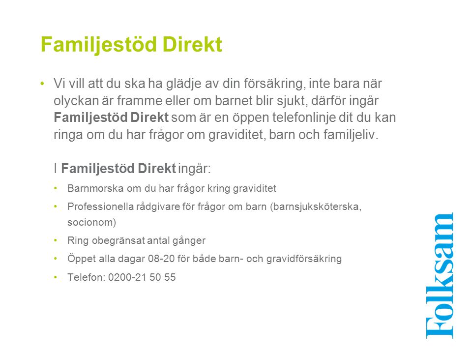 Familjestöd Direkt
