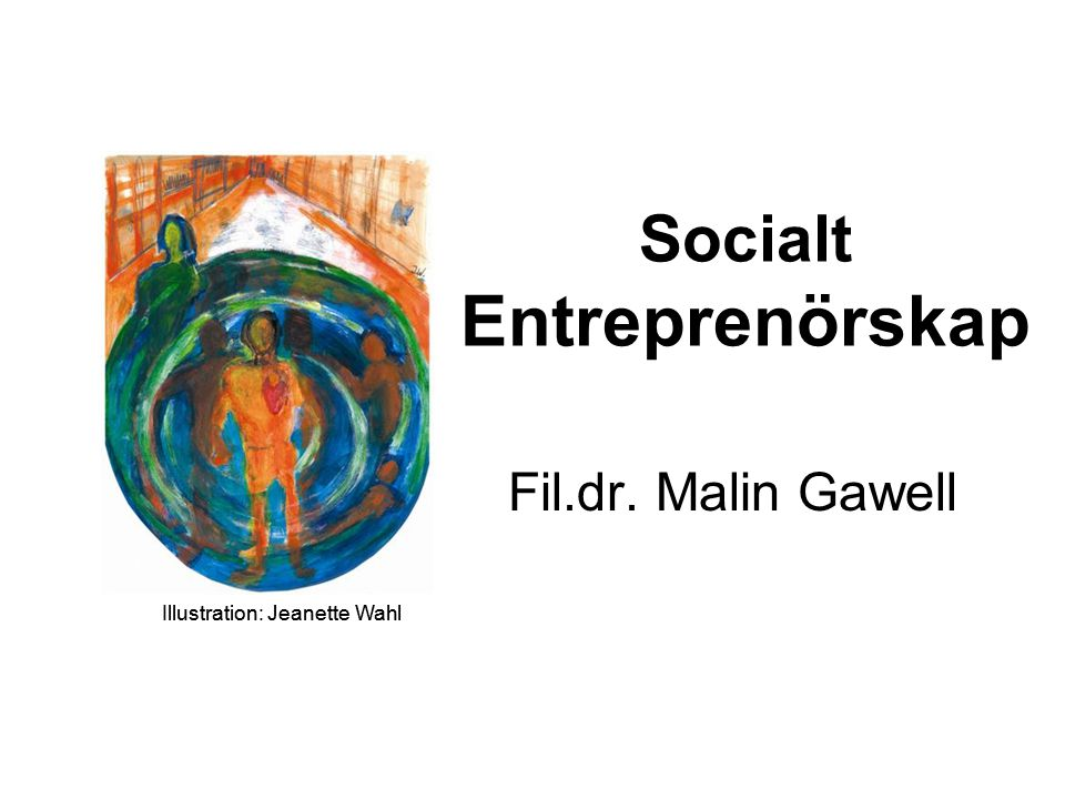 Socialt Entreprenörskap