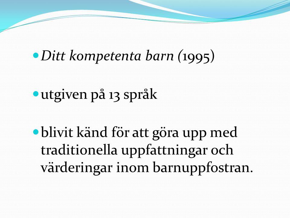 Ditt kompetenta barn (1995)