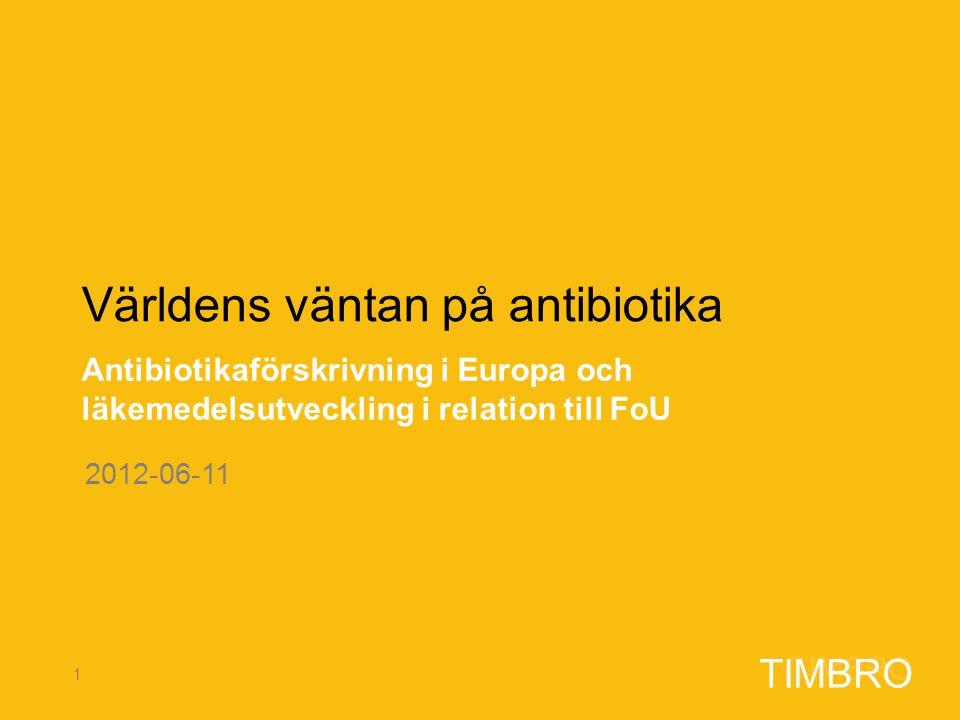 Världens väntan på antibiotika