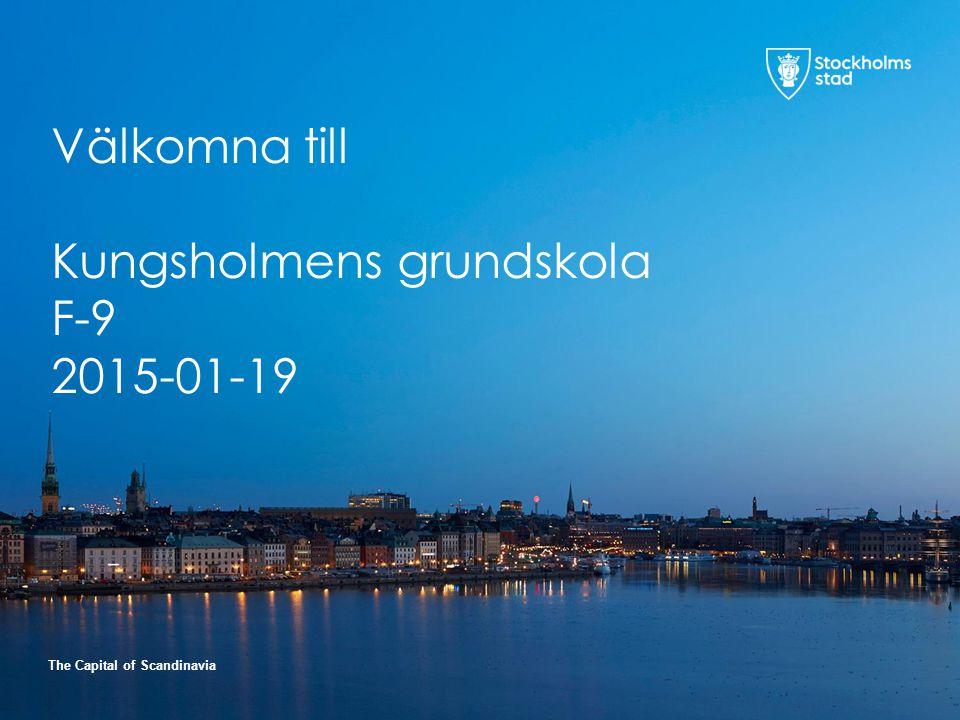 Välkomna till Kungsholmens grundskola F-9 2015-01-19