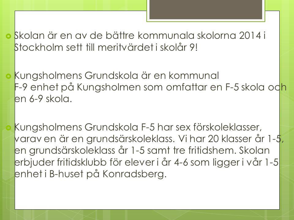 Kungsholmens Grundskola F5,6-9