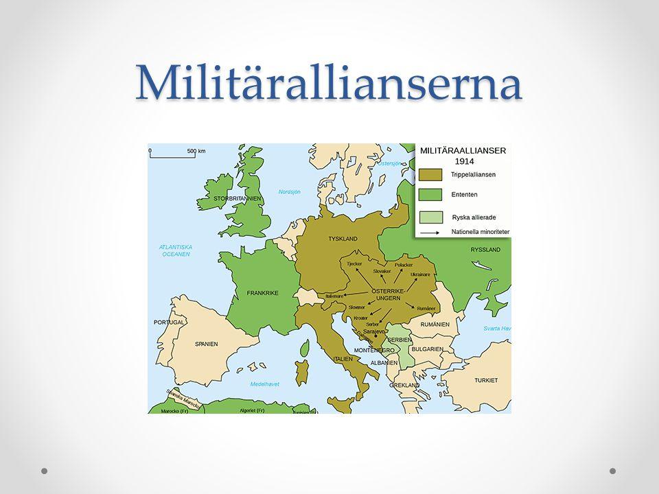Militärallianserna