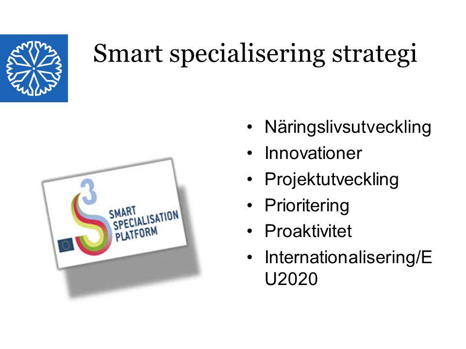 Smart specialisering strategi