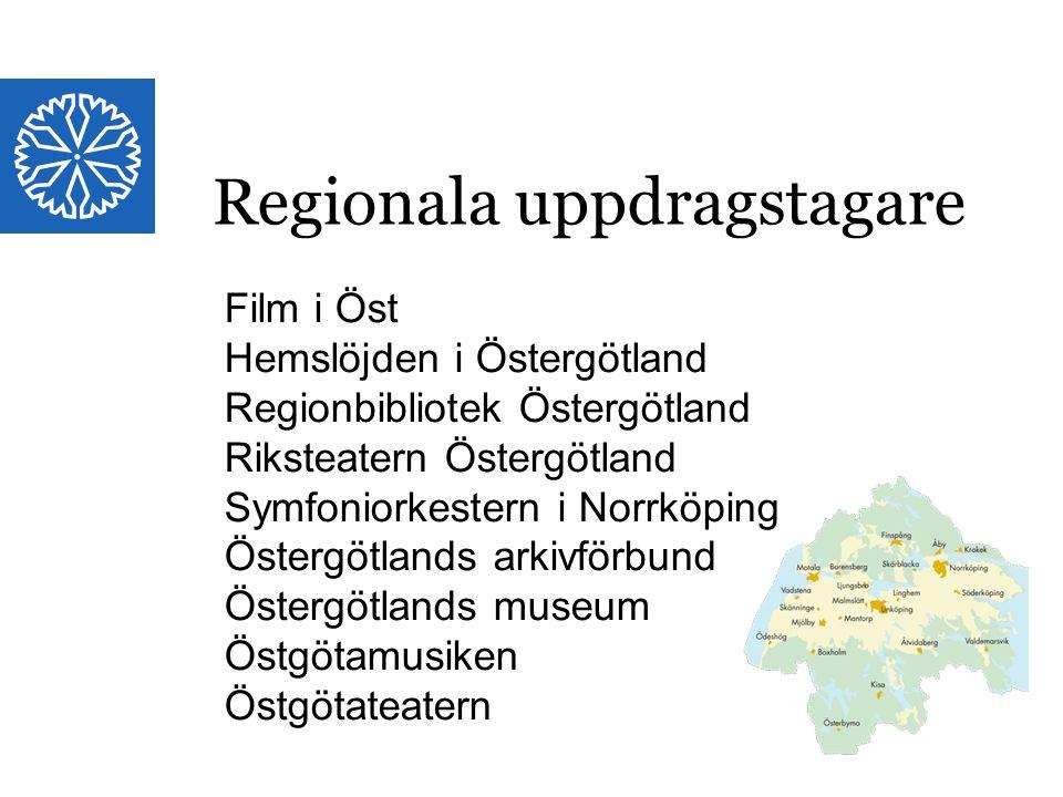 Regionala uppdragstagare