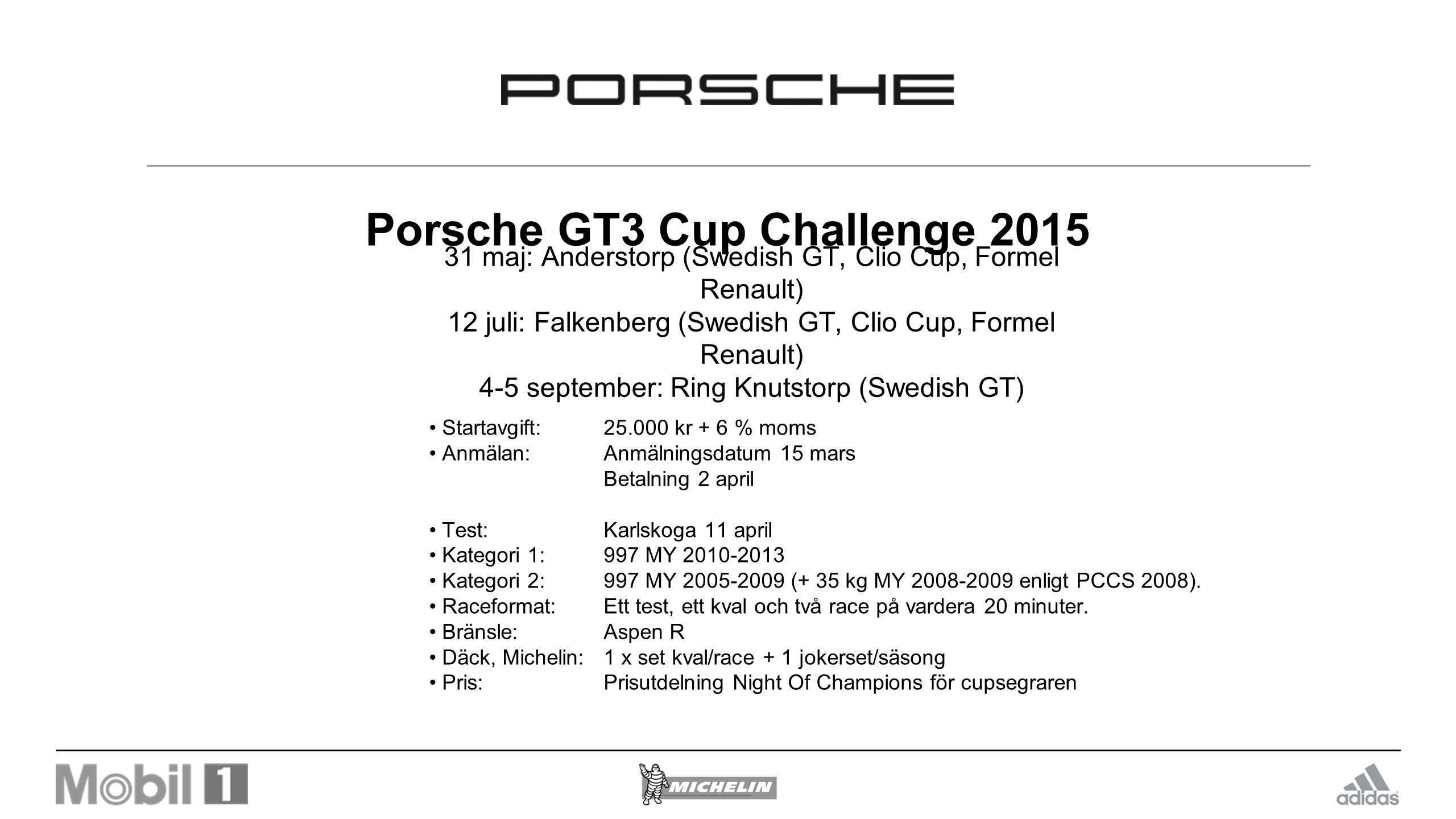 Porsche GT3 Cup Challenge 2015