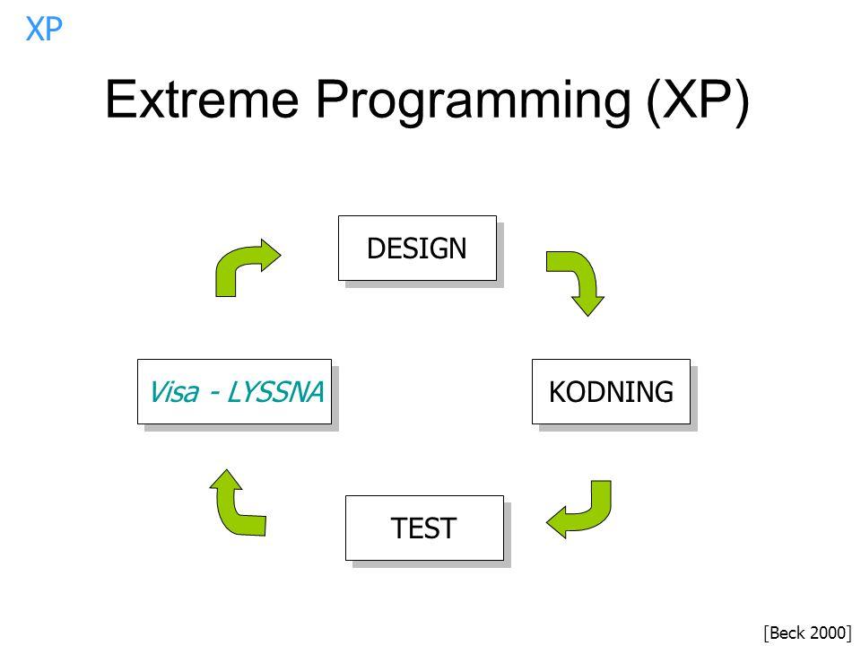 Extreme Programming (XP)