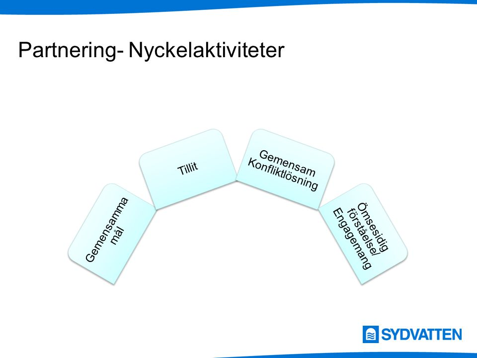 Partnering- Nyckelaktiviteter