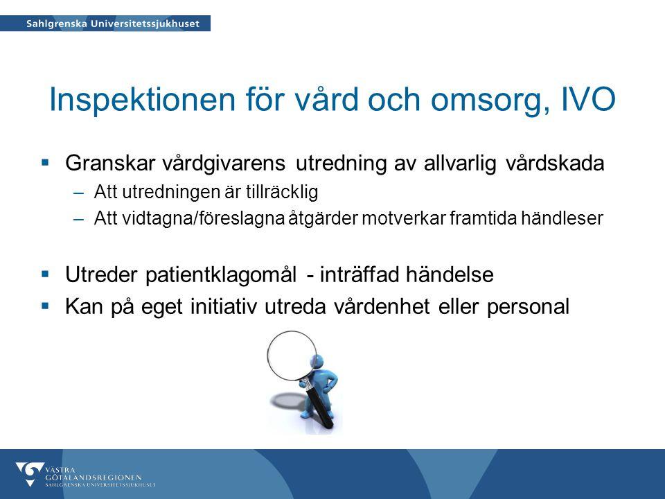 Inspektionen för vård och omsorg, IVO